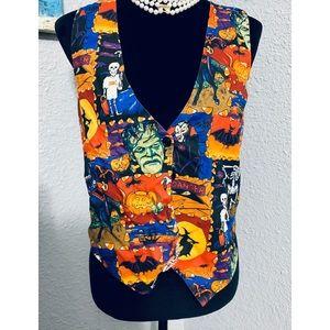 Vintage 111 Main Halloween Vest